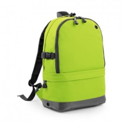 Sac à dos sport avec compartiment pour ordinateur - BG550 - vert citron