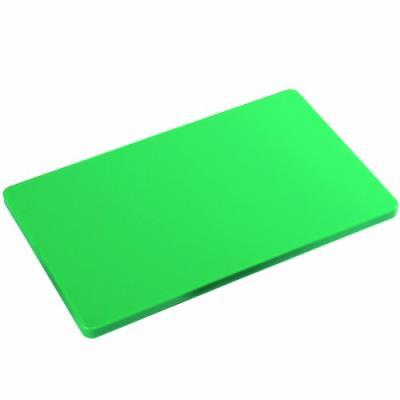 Kesper haccp 30154 planche à découper épaisse en plastique 53 x 32,5 x 1,5 cm vert