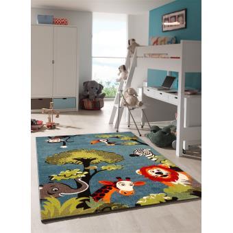Tapis chambre enfant KIDS SAFARI Undefined par Unamourdetapis 80 x 150 cm