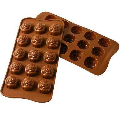 Moule en silicone - Moule à chocolat Easy Choc : Rose