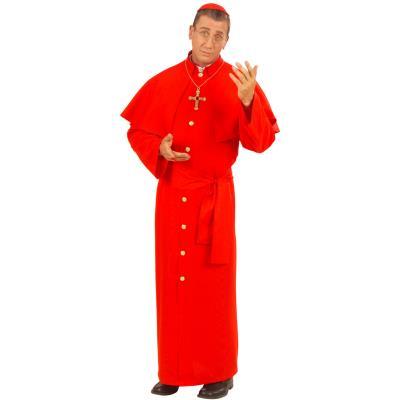 Déguisement Cardinal Rouge (Grande taille XL)