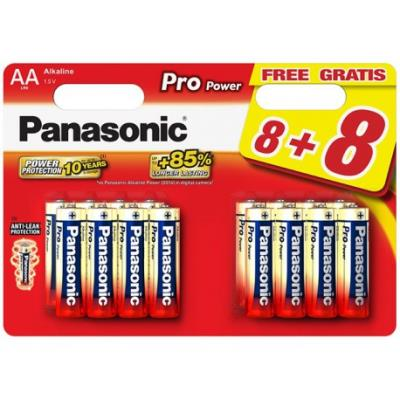 16 Piles Pro Power LR06 8+8 gratuites