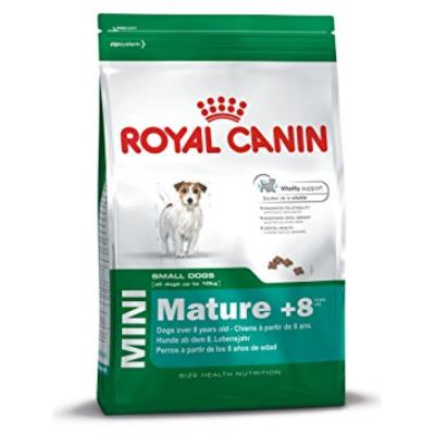 ROYAL CANIN/Mini Mature + 8 Sac de 2 Kg Royal Canin Croquettes pour petit chien(- 10 kg) de 8 Ã 12 ans
