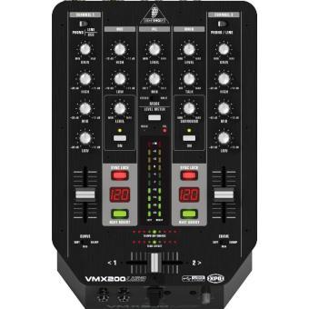 Behringer Tables De Mixage Dj Behringer Vmx200 Usb