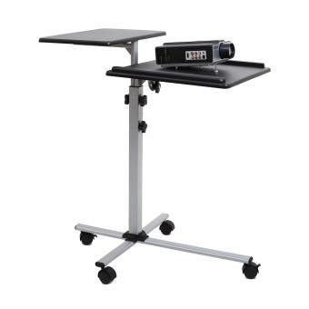 30 sur auna ts 2 table pour vid oprojecteur 2 tages 4 roulettes hauteur r glable supports - Table pour videoprojecteur ...