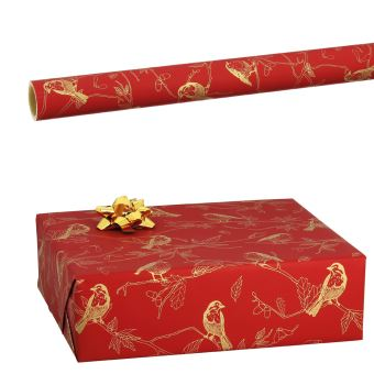 Rouleau Papier Cadeau Oiseaux Accessoires Top Prix Fnac
