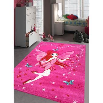 Tapis chambre fille KIDS FEE Tapis Enfants par Unamourdetapis 60 x 110 cm
