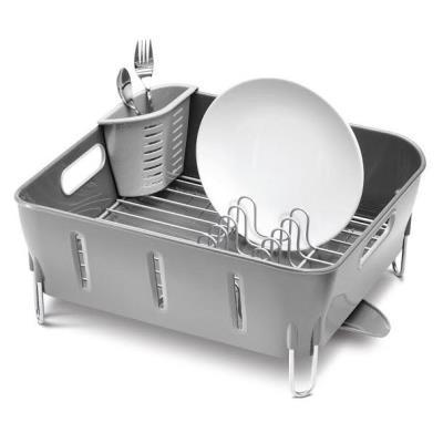 Égouttoir à vaisselle gris Simplehuman