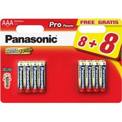 16 Piles Pro Power LR03 8+8 gratuites