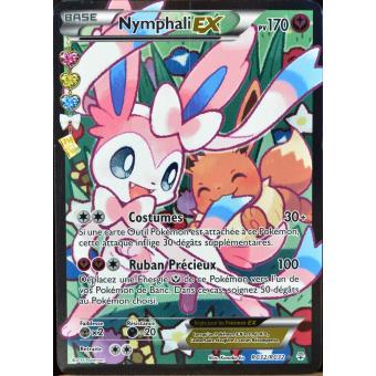 Carte pok mon rc32 nymphali ex 170 pv ultra rare full art jeu de cartes achat prix fnac - Carte pokemon ex rare ...