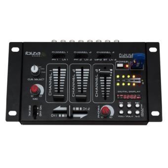 Ibiza djm21mkii table de mixage 4 pistes usb bt mp3 table - Table de mixage en ligne gratuit ...
