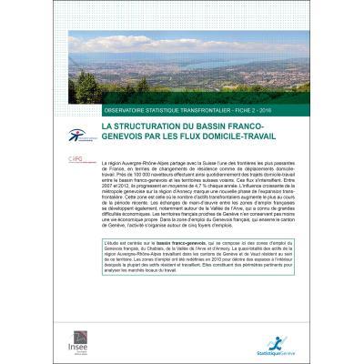 Les flux domicile-travail dans le bassin franco-genevois - Observatoire statistique transfrontalier