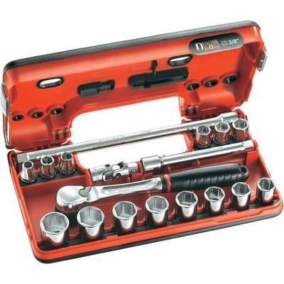 Facom JL.DBOX1 Jeu de clés à pipe 3/8\