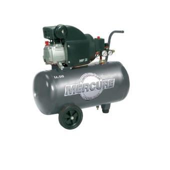 Mecafer Compresseur 50 L 2hp Mercure 425702