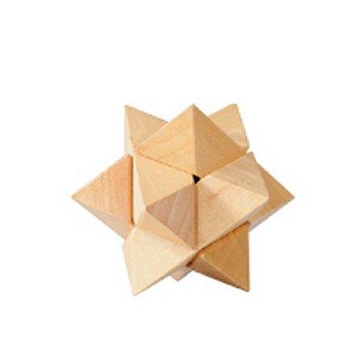 Gigamic - Casse-tête en bois - Etoile