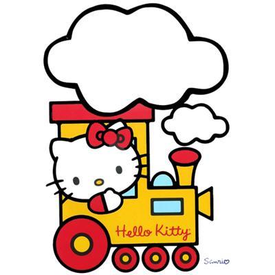 Sticker Deco Géant Hello Kitty tableau blanc