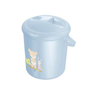 Rotho babydesign poubelle à couches bella bambina bleu nacré