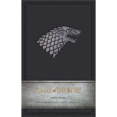 Game Of Thrones Ruled Journal: House Of Stark (Hardcover)