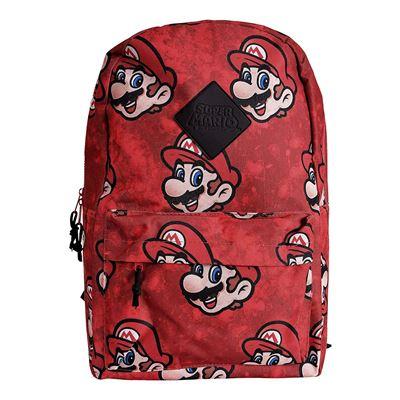 Nintendo Super Mario Bros. Bros. Sublimation Backpack, Multi-Colour (BP130733NTN) Sac à Dos Loisir, 28 cm, 20 liters, Multicolore (Multicolour)
