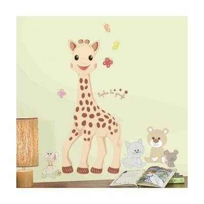 Roommates 539107 sophie la girafe stickers géant repositionnable