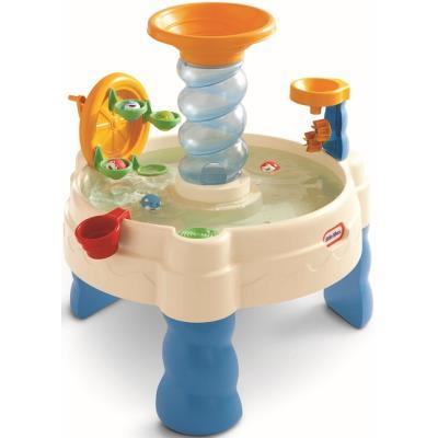Table de jeux d'eau spiralin seas waterpark - little tikes - jeu plein air