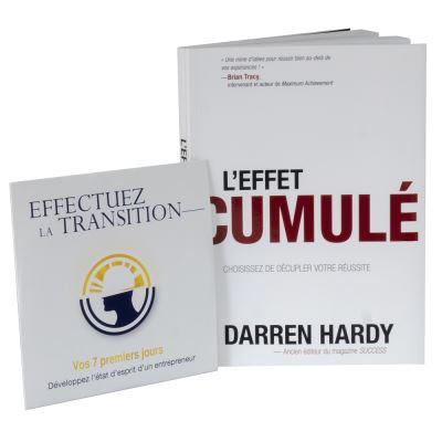 Effet Cumule de Darren Hardy : Pack Livre et Audio CD