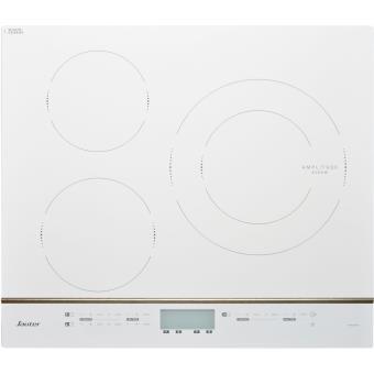 Table induction sauter spi4360w blanche plaque - Table vitroceramique blanche ...