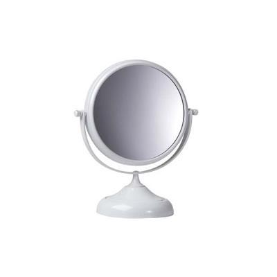Pradel miroir grossis.s/pied epoxy blanc