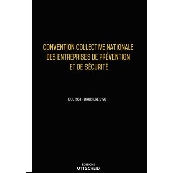 Convention collective nationale de la pr vention et - Grille de salaire securite ...