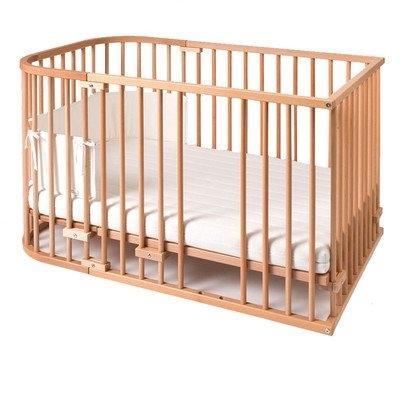 kit de conversion cododo original en lit a barreaux wengé babybay