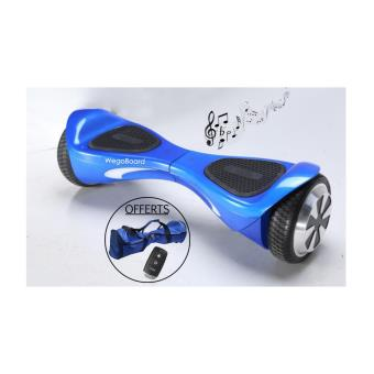 hoverboard bluetooth skateboard electrique wegoboard smart bleu skateboard lectrique achat. Black Bedroom Furniture Sets. Home Design Ideas