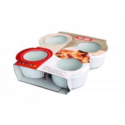 IBILI - Ustensiles et accessoires de cuisine - lot 4 ramequins céramique ( 230010-4 )