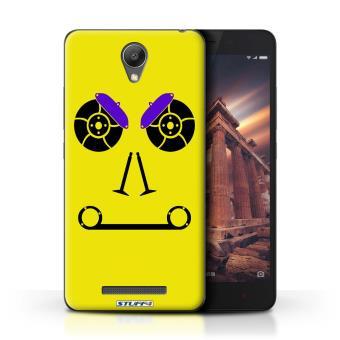 Coque De Stuff4 Etui Housse Pour Xiaomi Redmi Note 2 Prime Freins Jaune Design Visages Piece Voiture Collection