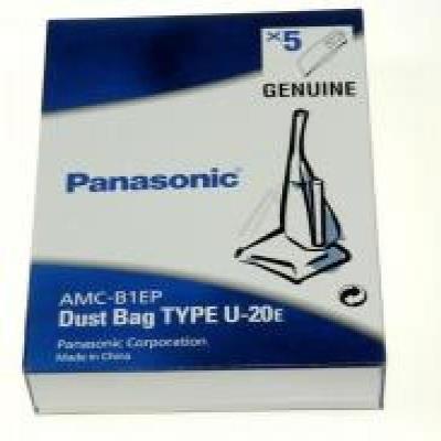 Boite de 5 sacs U-20E d'origine pour Aspirateur PANASONIC (223158)