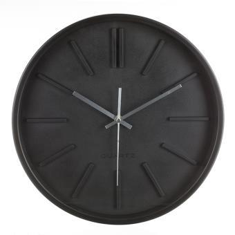 horloge murale design 35 cm noir achat prix fnac On achat horloge murale design