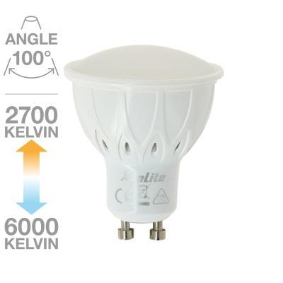 Ampoule Spot CCT MEMO-K 100° GU.10 5.5W équivalent à 50W