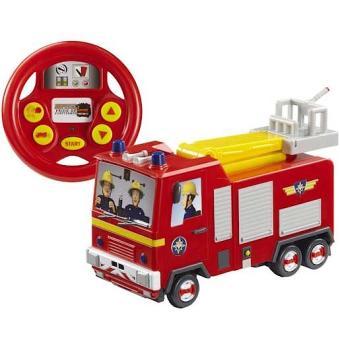Sam le pompier jupiter drive and steer camion - Sam le camion de pompier ...