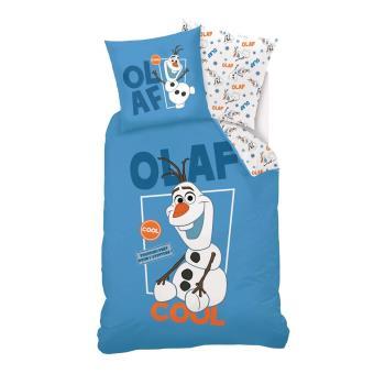 Parure De Lit 140 X 200 Cm La Reine Des Neiges Frozen Olaf