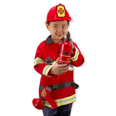 Déguisement pour enfant le chef des pompiers Sam