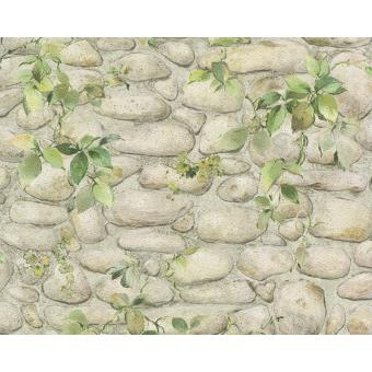 Papier Peint Pp Effet Mur Vegetal Lot De 12 Decoration Des Murs