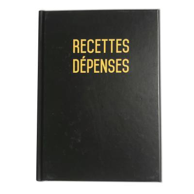 Recettes et dépenses- Format A5 - 80 pages - Qualité haut de gamme