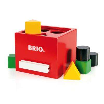 Brio 30148 Boite A Formes Rouge