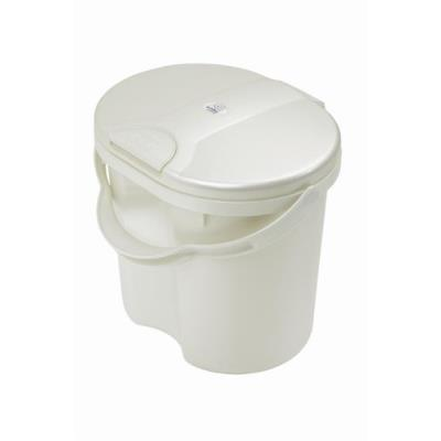 Rotho babydesign poubelle à couche top - blanc perle