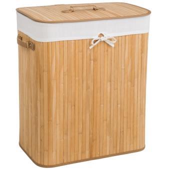 e24d2965252 Panier à linge 100l naturel - Accessoires salles de bain et WC - Achat    prix