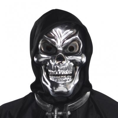 Masque Squelette Argenté - Adulte