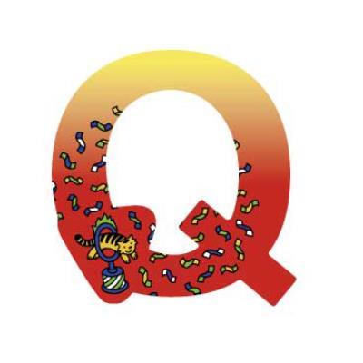 Lettre décoration Circus Q