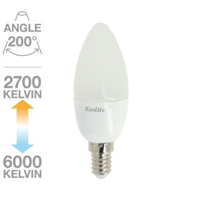 Ampoule Flamme CCT MEMO-K 200° E14 6W équivalent à 40W