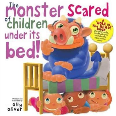 Monster Scared Of Children Under The Bed