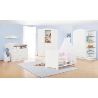 Pinolino - Chambre bébé blanche Jil - petite armoire - Achat & prix ...