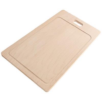 Fackelmann 31097 fair planche à découper bois de hêtre beige 35 x 21 x 1 cm